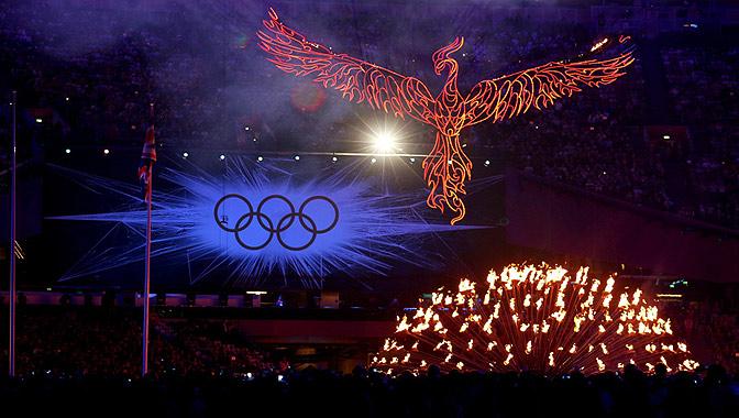 2012伦敦奥运会闭幕式举行