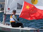中国帆船奥运首金