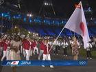 日本代表团入场
