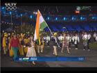 印度代表团入场