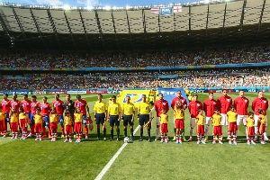 哥斯达黎加对阵英格兰
