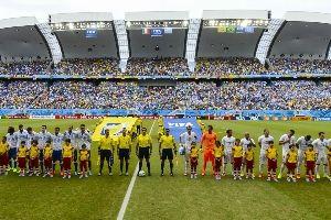 意大利对阵乌拉圭