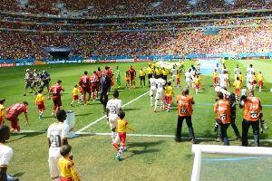 葡萄牙vs加纳入场仪式