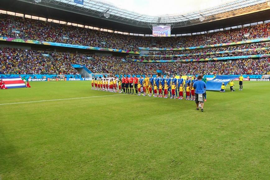 哥斯达黎加vs希腊开场仪式