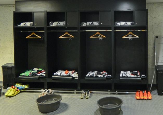 淘汰赛德国更衣室一览