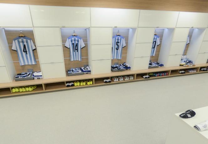 阿根廷更衣室一览