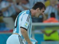进球视频-梅西碎步疾走低射死角 激情狂奔怒吼庆祝