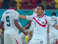 视频-铁卫攻入制胜点球 哥斯达黎加疯狂飞奔庆祝