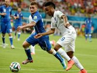 世界杯D组第1轮 英格兰VS意大利上半场