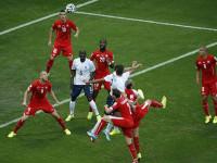 世界杯E组次轮 瑞士VS法国上半场