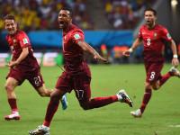 世界杯G组次轮 美国VS葡萄牙上半场