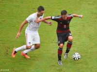 世界杯G组末轮 美国VS德国上半场