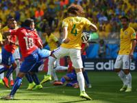 世界杯1/8决赛 巴西VS智利上半场