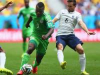 世界杯1/8决赛 法国VS尼日利亚下半场