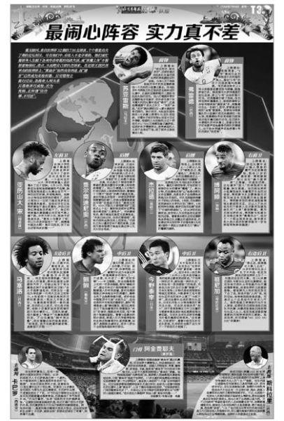 《北京青年报》版面图