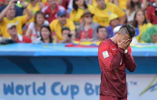 C罗饮恨世界杯