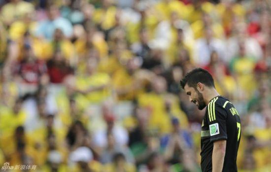 59个进球,97次出场――比利亚的国家队记录在这个下午的拜沙达球场定格