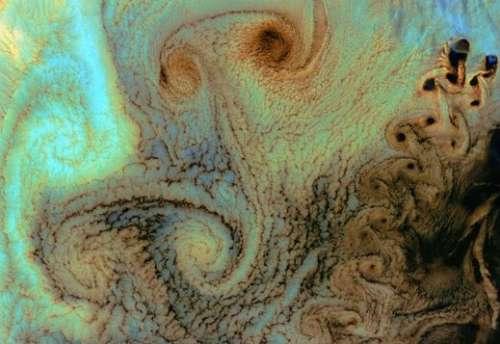 美刊公布美宇航局50年十佳地球卫星照片(图)
