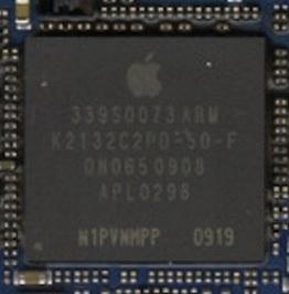 图为苹果手机使用的处理器
