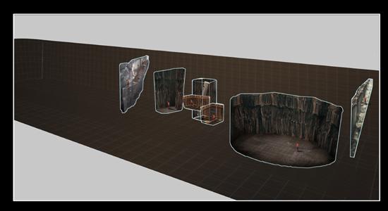 发现的空间结构示意图