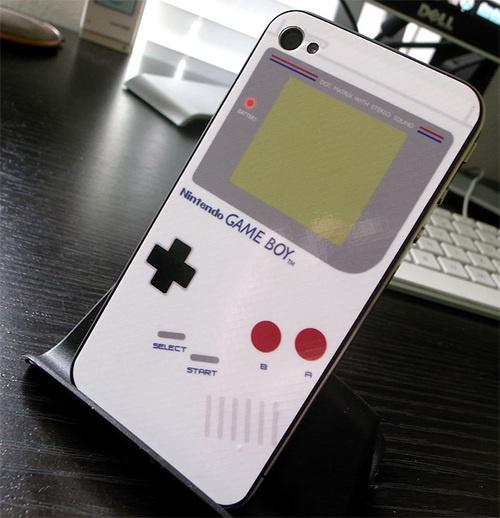 新款数码gameboy图案的iphone4贴纸华为手机电池最大多少钱图片