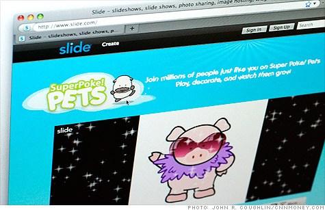 深受中年妇女喜爱的社交游戏Slide's SuperPoke