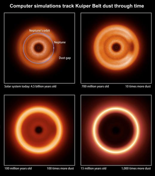 美科学家模拟出外星人眼中太阳系模样(图)