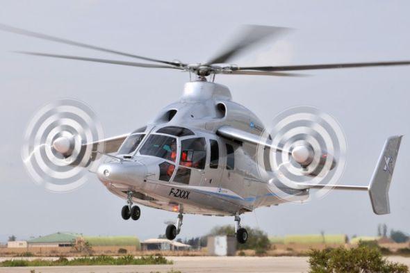 军事前沿:歐洲新型高速直升機試飛時速達460公里 [3P]