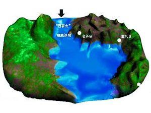 神秘的老爷庙水域(制图)鄱阳县进风口