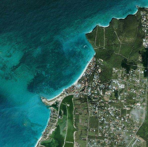 安提瓜岛海岸