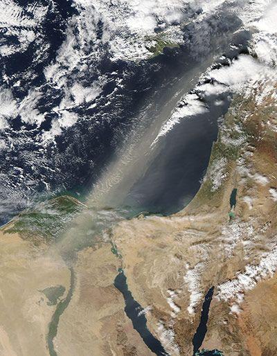 地中海沙尘暴