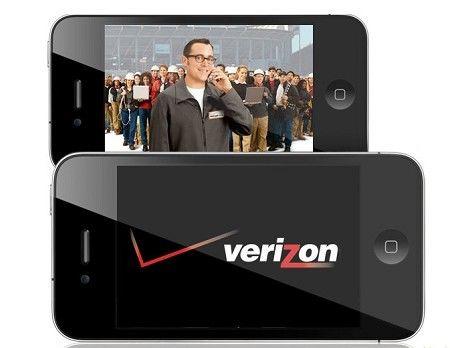Verizon版iPhone 4(新浪科技配圖)