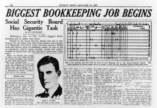 美国1935年颁布了《社会保障法》