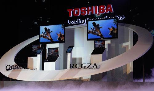 东芝发布新品液晶电视