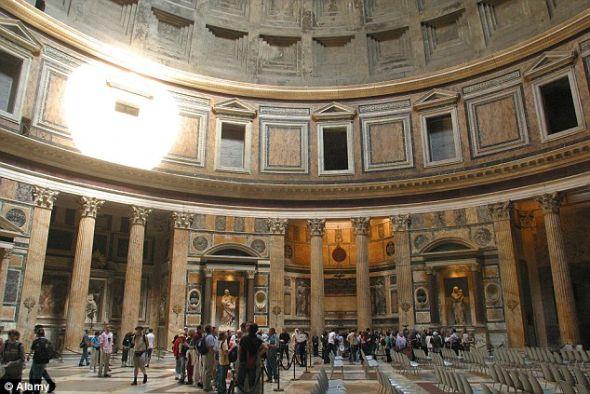 2000历史罗马万神殿疑为巨型日晷 图 科学探索 科技时代 新浪网