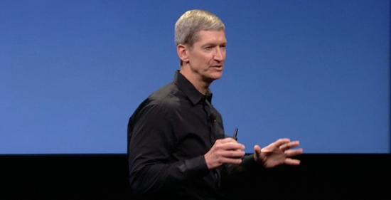 苹果新任CEO蒂姆·库克