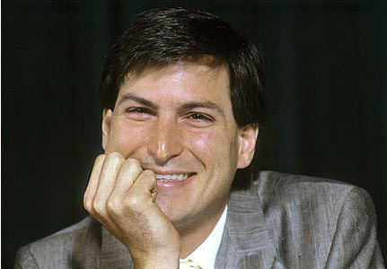 乔布斯于1984年在纽约接受记者采访。