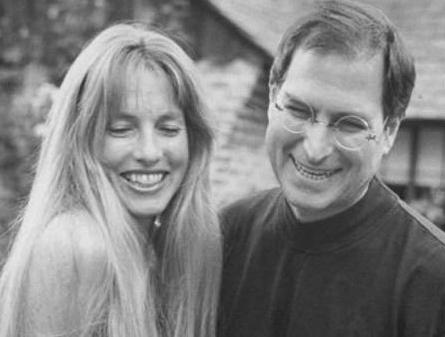 乔布斯与妻子