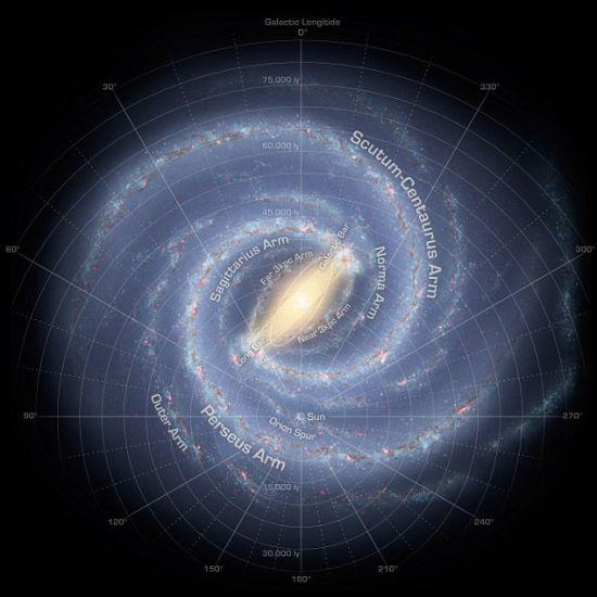 我们的银河系中可能存在其它的智慧生命吗?一项最新的研究试图找出它们最有可能存在于何处