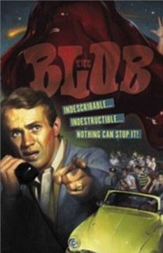 1958年恐怖科幻片《变形怪体》剧照,灵感来源于神秘的半透明胶状物