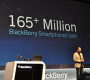 已售超过1.65亿台黑莓