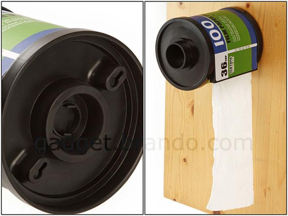 胶卷形状厕纸盒