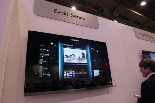海尔推出的无边框智能电视
