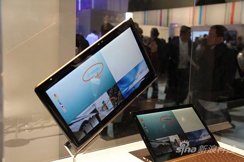 索尼滑盖概念平板电脑