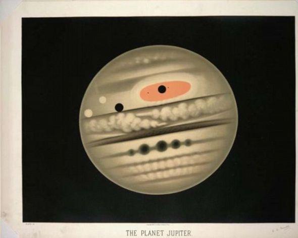 特鲁夫洛共创作了7000多幅天文绘画作品,其中包括这幅土星作品