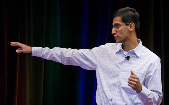 谷歌Chrome业务主管桑达尔·皮恰伊