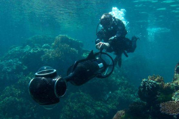 """谷歌正计划把""""谷歌地球""""拓展到海底世界"""