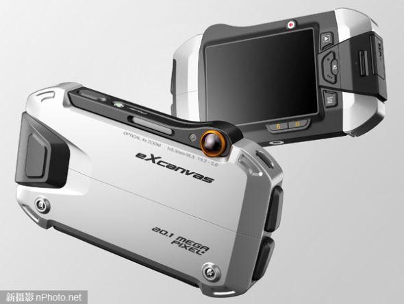 eXcanvas概念相机