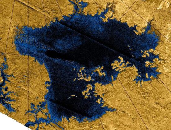 烃湖泊和河流