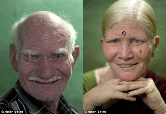 50岁的洛瑟塔里(左)和45岁的妻子玛尼(右)于1983年通过包办婚姻结合